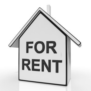 For Rent House Means Property Tenancy Or Lease