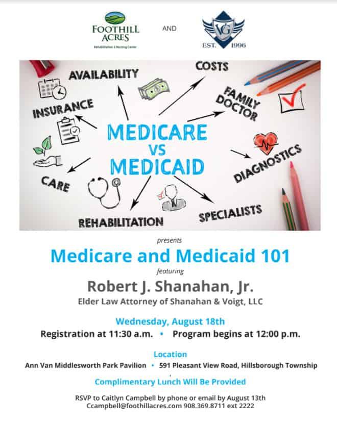 medicare medicaid attorneys in NJ